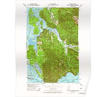 USGS Topo Map Washington Fort Columbia 241168 1938 62500 Poster