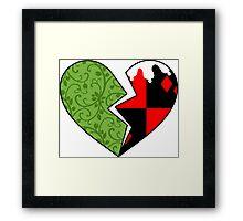 Poison Ivy & Harley Quinn Framed Print