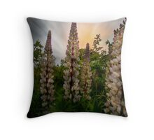 Wild Lupin Throw Pillow