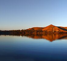 Winter Sunset - Bonnie Doon by Barbara  Glover