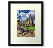 Kings College, Cambridge Framed Print
