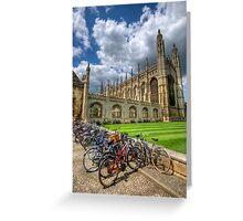 Kings College, Cambridge Greeting Card
