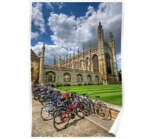 Kings College, Cambridge Poster