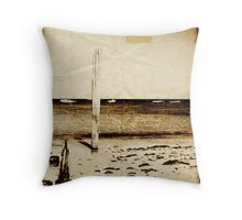 Coastal Memories (Scott Peters, 2009, Digital Mixed Media) Throw Pillow