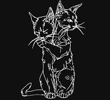 polycephalic cat (white lines) Unisex T-Shirt