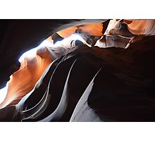 Antilope Canyon more waves Photographic Print