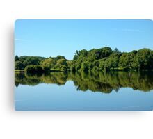 Mirror, Mirror  - Union Pond Canvas Print
