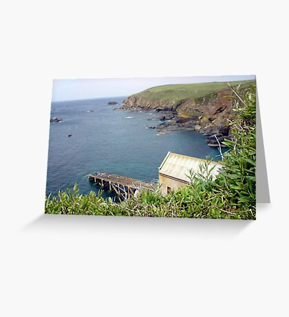 Lizard Lifeboat Station Greeting Card