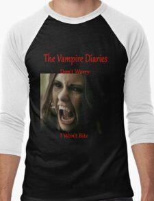 The Vampire Diaries - Elena - Katherine - (Designs4You) Men's Baseball ¾ T-Shirt