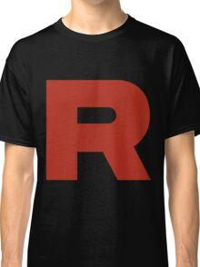 R Team Rocket Pokemon Classic T-Shirt