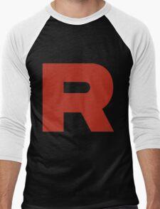 R Team Rocket Pokemon Men's Baseball ¾ T-Shirt