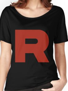 R Team Rocket Pokemon Women's Relaxed Fit T-Shirt