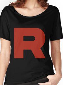 R Team Rocket Pokemon Women's Relaxed Fit T-Shirt