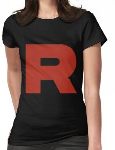 R Team Rocket Pokemon Womens Fitted T-Shirt