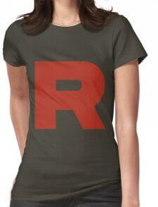 R Team Rocket Pokemon Womens Fitted T-Shirt