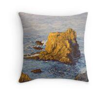 Fortress Rock Throw Pillow