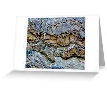 Rock Chasm Greeting Card