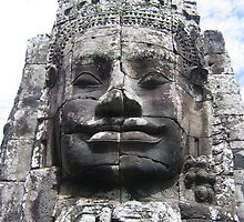 Face of Angkor by machka