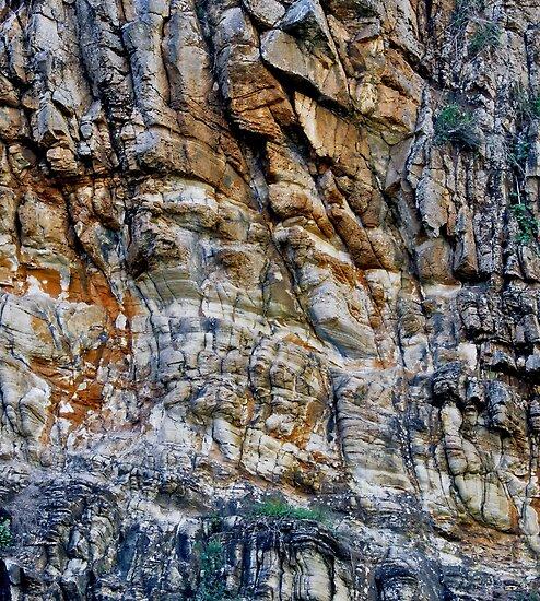 Rock Chasm II by Stephen Mitchell