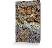 Rock Chasm III Greeting Card