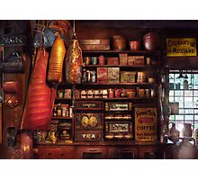 Americana - Store - The local grocers  Photographic Print