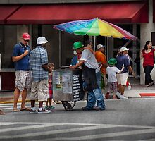 Americana - Buying Ices  by Mike  Savad