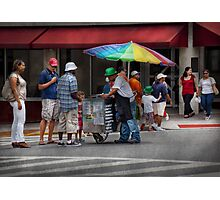 Americana - Buying Ices  Photographic Print
