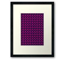 Bubblegum Squares Framed Print