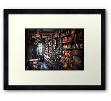 Americana - Store - Corner Grocer  Framed Print