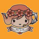 Fruit Blush Teapot by Bubble Doll