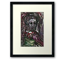 OverOverWorked - Amy Winehouse Framed Print