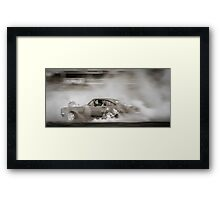 DIZYHG at Tread Cemetery Framed Print