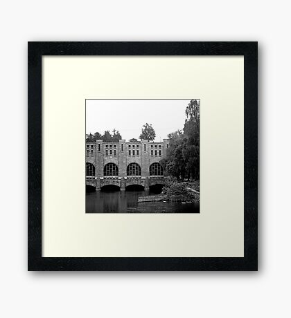 Architecture 7 Framed Print