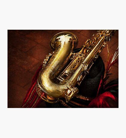 Music - Brass - Saxophone  Photographic Print