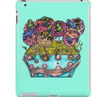 cake pop frog box (color) iPad Case/Skin