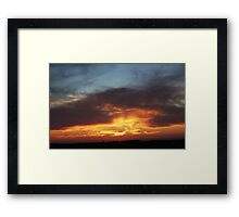Reflections of Her Eyes Framed Print