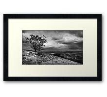Carding mill Valley Framed Print