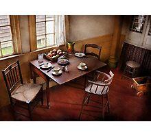 Chef - Kitchen - Kids breakfast is ready  Photographic Print