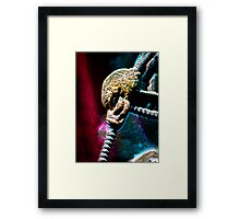 ©DA AS Alien Metal V2. Framed Print