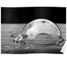 Life in a bubble Poster