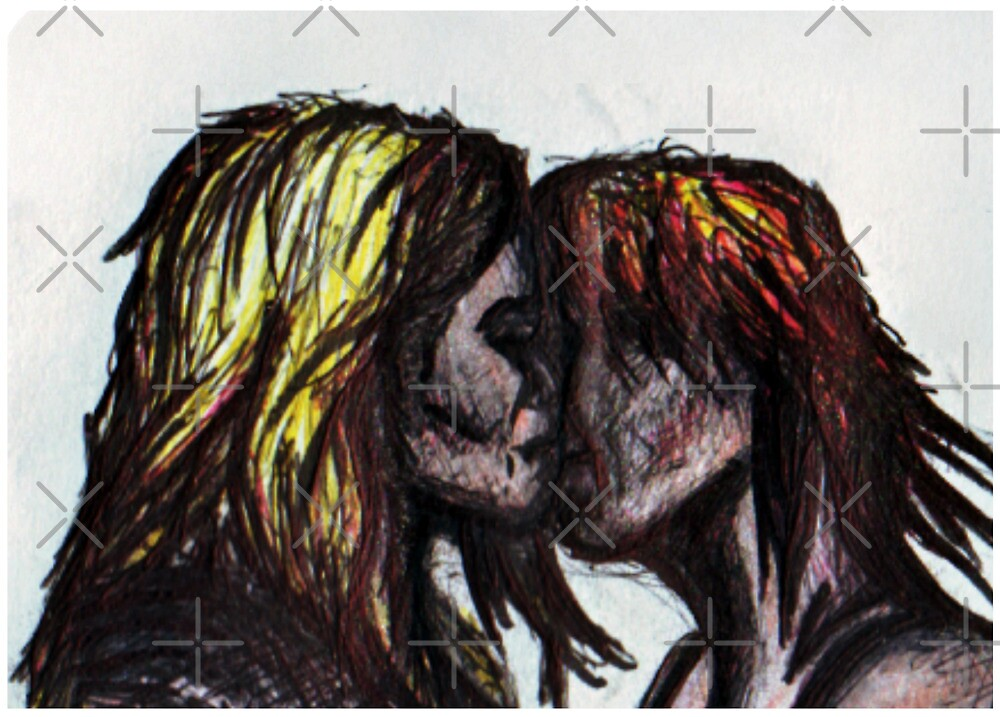 Two Together - Drawing by DreddArt
