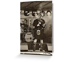 Red Hot Chilli Pipers (1) Greeting Card