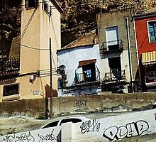 random buildings spain by H J Field