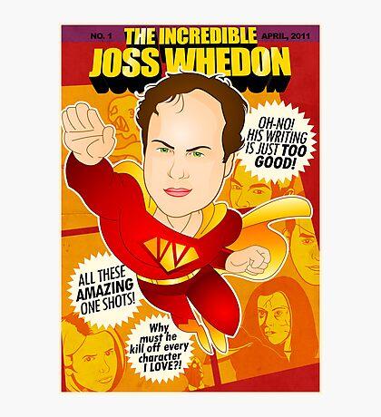 Joss Whedon Photographic Print
