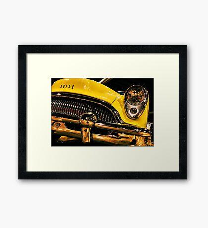 54 Buick Road Master Framed Print