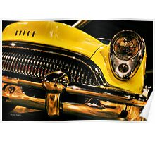 54 Buick Road Master Poster