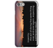 Definition of Insanity iPhone Case/Skin