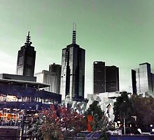 Melbourne City, Australia by LJ_©BlaKbird Photography