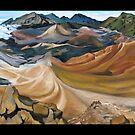 """Haleakala Volcano Crater, Maui."" by amyglasscockart"
