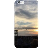 Newport Folk Festival Sunset iPhone Case/Skin